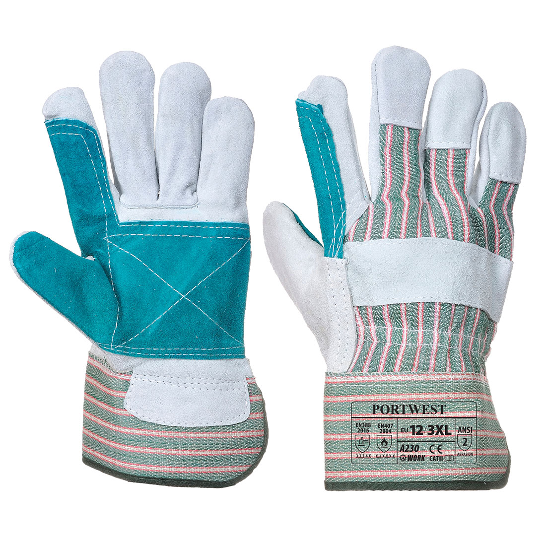 Double Palm Rigger Handschuh